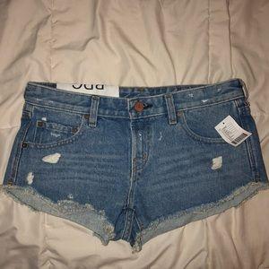 NWT UO denim shorts